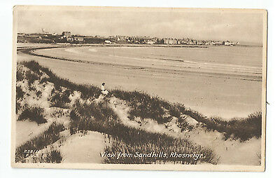 Wales Anglesey Rhosneigr View From Sandhills Vintage Postcard 10.01