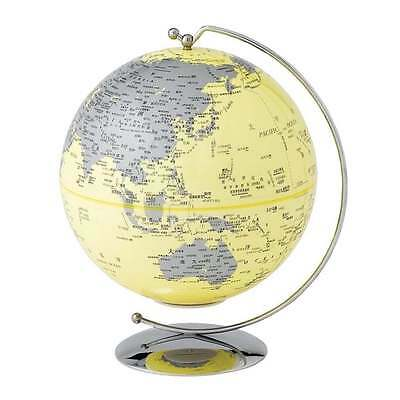 Globe Collection Yellow Light-Up Mini Globe New Boxed A27306
