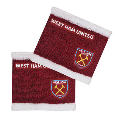 West Ham United Wristbands Sweatband Gift New Official Licensed Football Product