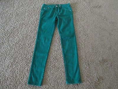 16 Justice Girls Green Jeans Simply Low Vgc