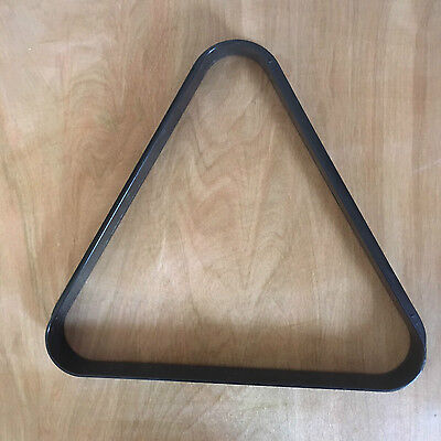 """American Pool Table Rack Set Up Triangle For 2 1/4"""" Ball Size 57mm Used"""