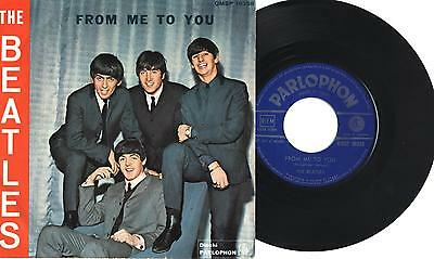 "THE BEATLES - From me to you - 1° stampa - 7"" 45gg ITA VG 1964"