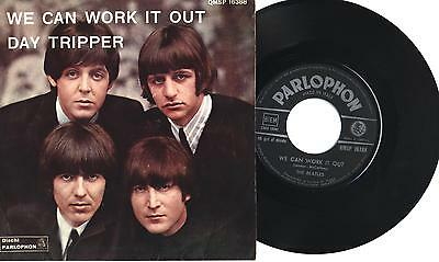 """THE BEATLES - We can work it out - Day tripper - 7"""" 45gg ITA EX 1966"""