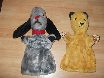 Vintage  Sooty  And Sweep Hand Puppet