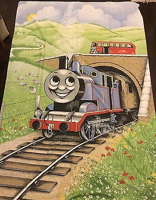 Vintage 1984 Horrockses Thomas The Tank Engine Single Duvet Cover & Pillowcase