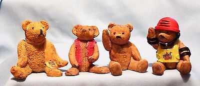 Colourbox  Bears    Four  Assorted, All In   Ex!!!!.   Set. 12