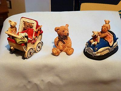 Colourbox  Bears  Three  Assorted, All In   Ex!!!!!!!!!  Set. 7