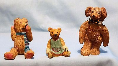 Colourbox  Bears  Three  Assorted, All In   Ex!!!!!!!!!  Set.13