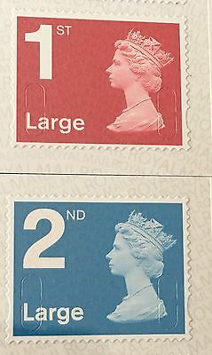 "GB NEW Machin 2016 1st + 2nd Large ""MFIL M16L"" Pair"