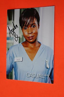 Azuka Oforka (Casualty) Signed Cast Card
