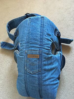 Baby Bjorn Denim Baby Carrier