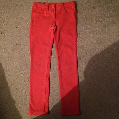 Gorgeous Girls Red Skinny Jeans From Next Age 8 Years - Used