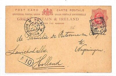 GG48 1903 London Holland Postcard Samwells-covers