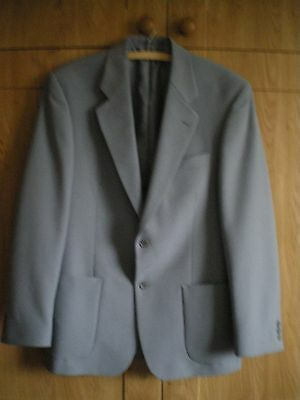 Mens' Grey Smart Tailored Jacket