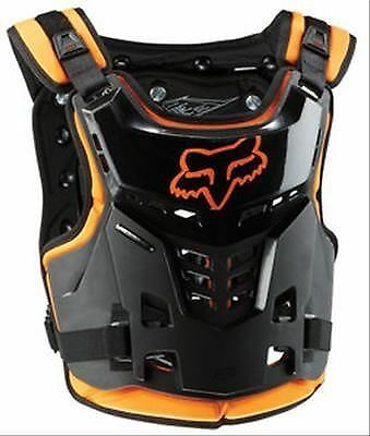Fox Racing Proframe LC Roost Deflector Youth Orange Chest Protector