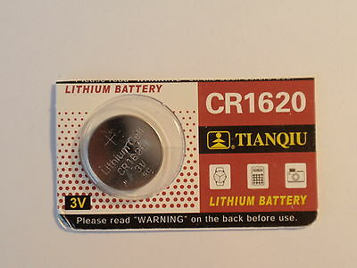 Car Remote -1- Cr1620 / DL-1620 -BR-1620-- Battery-3V-Guaranted-Fast Shipping