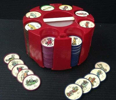 R1428.was mb $75. Jello 1960s set of 200 Antique Car coins with carroussel