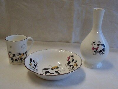 Scarce Hornsea Ceramics   Coffee Cup. Bowl and Bud Vase  Excellent Condition