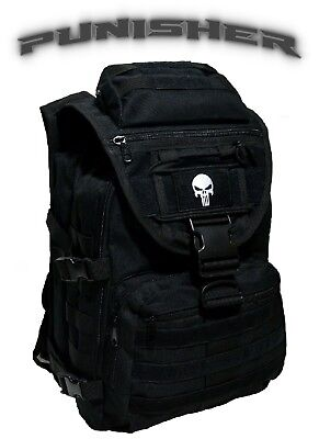 Punisher Recon PAINTBALL / AIRSOFT Tactical Backpack + FREE SELF DEFENSE SKULL