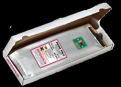 Bordeaux Low Solvent 1L Ink Bag and Chip for Seiko Colorpainter 64s, 100s (CA)