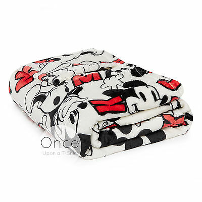DISNEY MICKEY MOUSE Soft Cosy Sherpa Throw Blanket from Primark