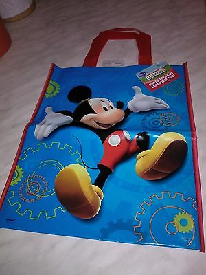 Five Disney Mickey Mouse Clubhouse Tote Bag With Label
