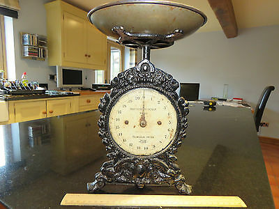 Old set of Salter Imperial ( kitchen ) scales