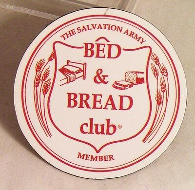Salvation Army - REFRIGERATOR MAGNET - BED & BREAD CLUB