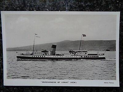 Marchioness of Lorne (new) by Adamson of Rothesay - Unused B/W RP