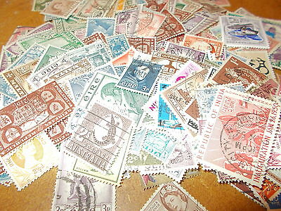 250+  Pre 1970 COMMONWEALTH STAMPS - only 99p start in the january sale!