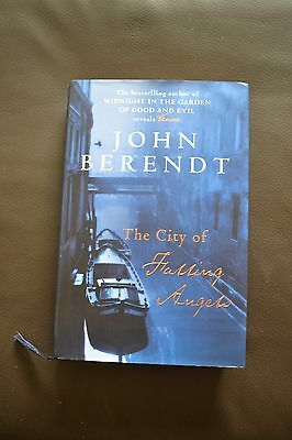 1st edition signed  hardback copy - The City of Falling Angels by John Berendt