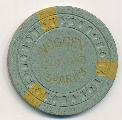 Nugget Casino Sparks Nv Roulette Chip 1955