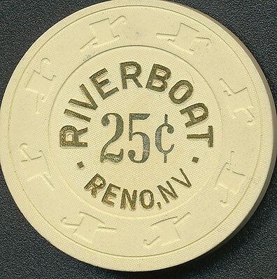 RIVERBOAT RENO $.25 Chip 1988