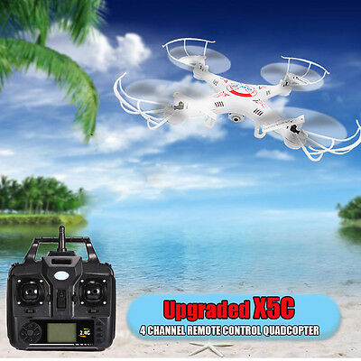X5C 2.4GHz 6 Axis RC Quadcopter Drone RTF HD Camera RC Dron Explorers Toy Gift