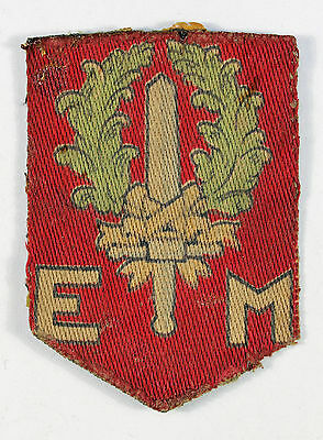 1st Netherlands Division WW2 Embroidered Formation Sign Badge