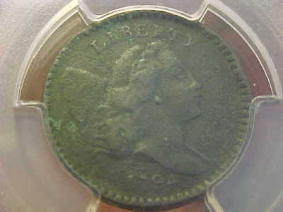 1794 Liberty Cap Half Cent Pcgs Very Fine Details, Ed, Genuine, Rare Choice Coin