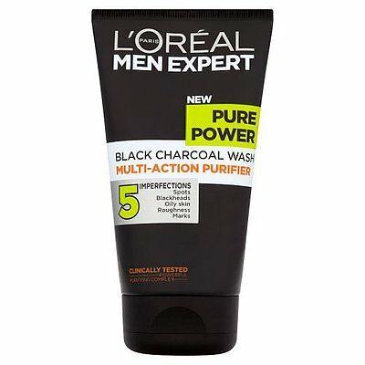 L'Oreal Paris Men Expert Pure Power Black Charcole Face Wash, 150 ml