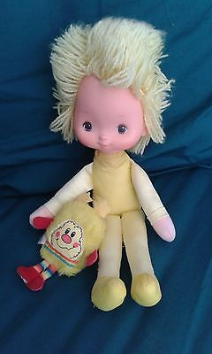 Vintage 1983 Rainbow Brite, Colour Kid Canary Yellow Approx 11""