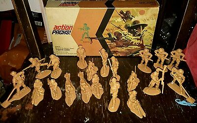 action PACKS! MODEL TOYS EIGHTH ARMY soldiers