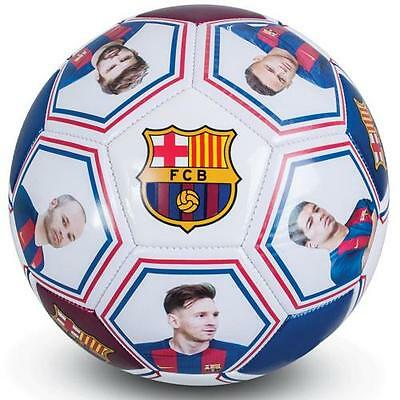 Official Licensed Football Product FC Barcelona Photo Signature Football Messi