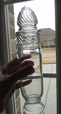 Vintage Tiffin Glass Marly Apothecary Jar