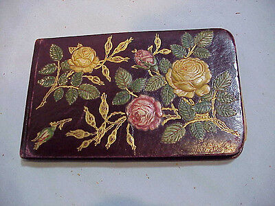 Victorian Autograph Album with lithograph pictures 1882 St. Louis Mo.