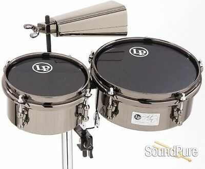 LP Latin Percussion John Dolmayan Mini Timbales with Cowbell & Mount Pack
