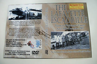 Lafayette Escadrille DVD The History of the Squadron and its Pilots  112 Minutes