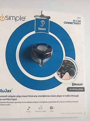 iSimple ISBT32 3.5mm Auxiliary Bluetooth Adapter for Music Streaming