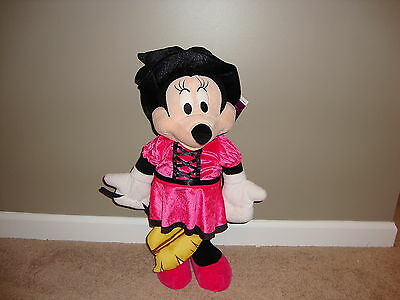 """Halloween Minnie Mouse Dressed as Witch Large Porch Greeter by Gemmy 20"""" NWT"""