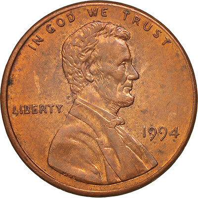 [#37762] UNITED STATES, Lincoln Cent, Cent, 1994, U.S. Mint, KM #201b