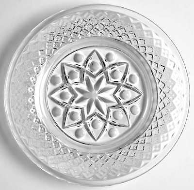 Imperial Glass Ohio CAPE COD CLEAR (#1602 & #160) Coaster Butter Pat 4656725