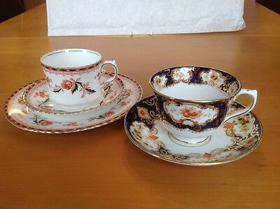 Antique Vintage Royal Albert Crown China cup & saucer & Aynsley Trio