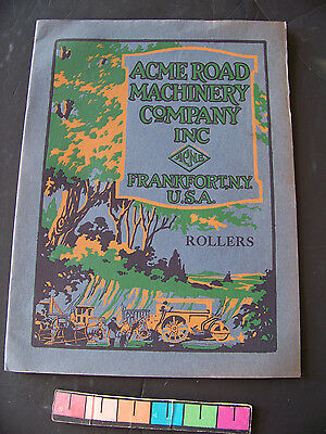 Early Acme Road Machinery Co Rollers Brochure Frankfort NY